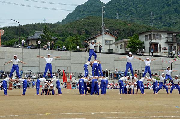 南条小学校運動会01