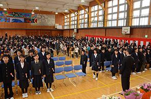 南条小卒業式02