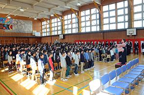 南条小卒業式09