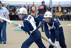 県消防ポンプ操法大会02