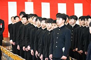 坂中卒業式02