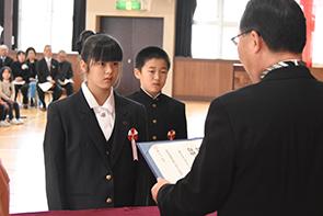 村上小卒業式03