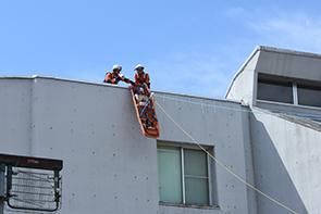 高所救助訓練